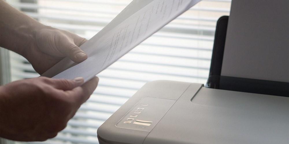 Laserdrucker-Seitenränder