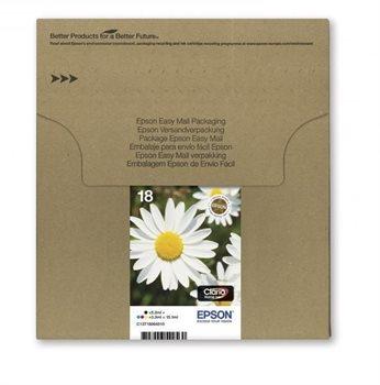 18 Easy Mail Packaging - 4er-Pack - schwarz, gelb,