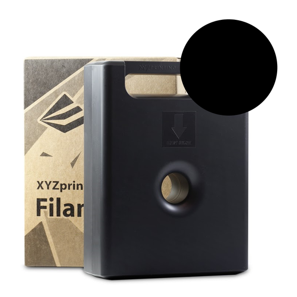 600g Black PLA Filament Cartridge