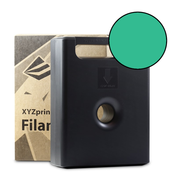 600g Clear Green PLA Filament Cartridge
