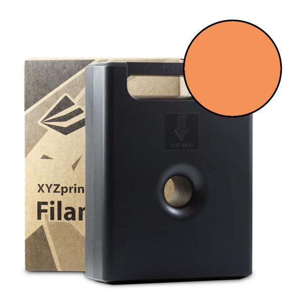 600g Clear Tangerine PLA Filament Cartridge