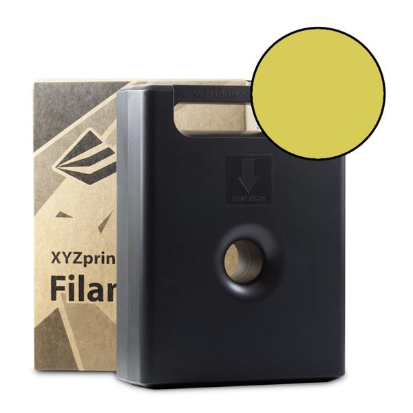 600g Clear Yellow PLA Filament Cartridge