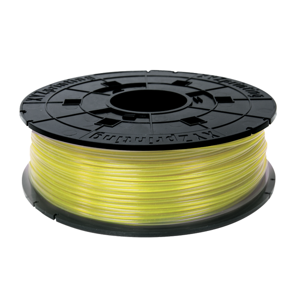 600g Clear Yellow REFILL PLA