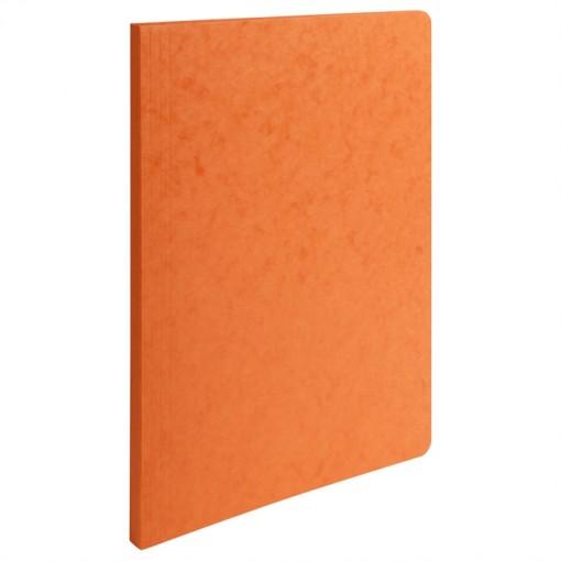 Aktendeckel mit gerilltem Rücken und Kapazität bis 350 Blatt aus Manila Karton 400g, 24x32cm für Format DIN A4