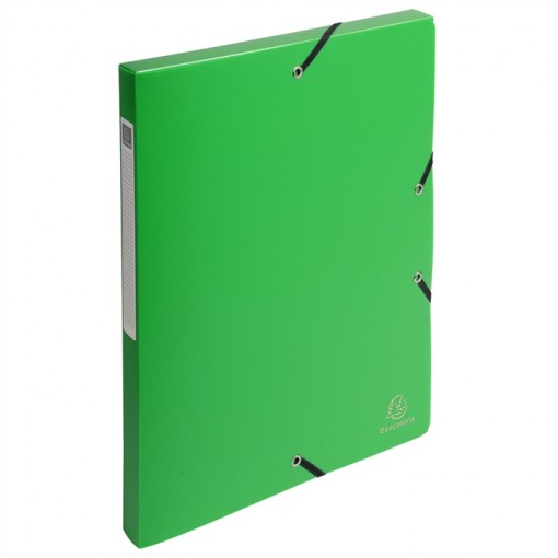 DIN A4 Schwarz Archivbox Rücken 25mm aus PP 700µ blickdicht