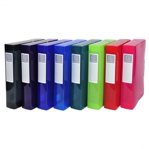 Archivbox aus PP 700µ, Rücken 60mm, 25x33cm für DIN A4 - Iderama.