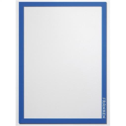 Aushangrahmen Frame It PRO, DIN A4, Hartfolie, matt, blau, 1.82 mm