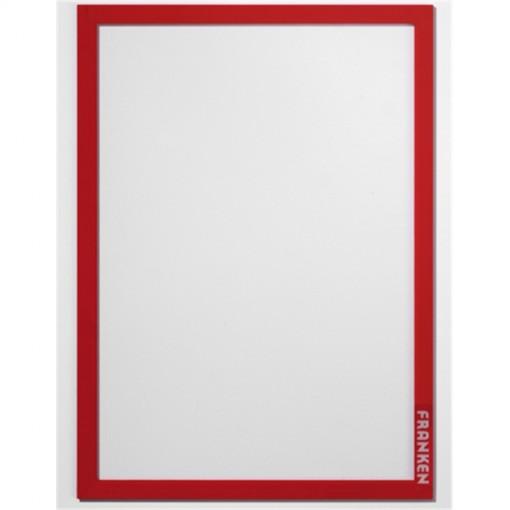 Aushangrahmen Frame It PRO, DIN A4, Hartfolie, matt, rot, 1.82 mm