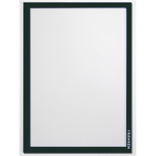 Aushangrahmen Frame It PRO, DIN A4, Hartfolie, matt, schwarz, 1.82 mm