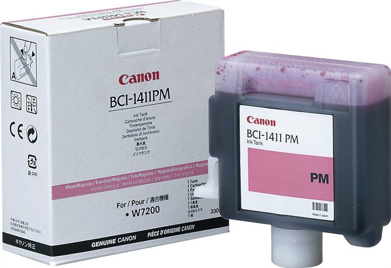 BCI-1411PM - Tintenpatr. photo mag. f. Canon W7200