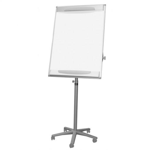 Bi-Office Design Mobiles Magnetisches Flipchart, Grau
