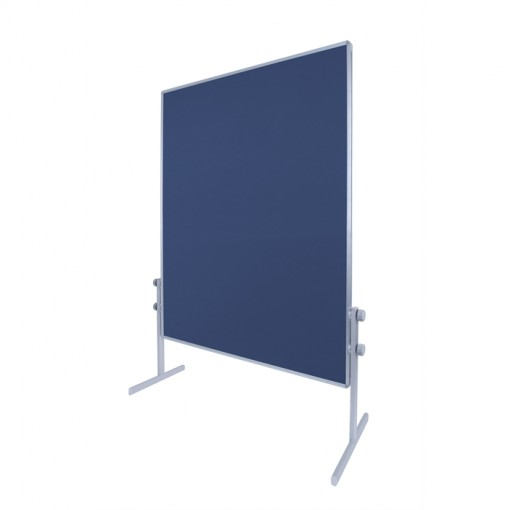 Bi-Office Moderationstafel Filz Blau 120 x 150 cm