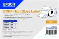 BOPP High Gloss Label - Die-cut Roll - C33S045704