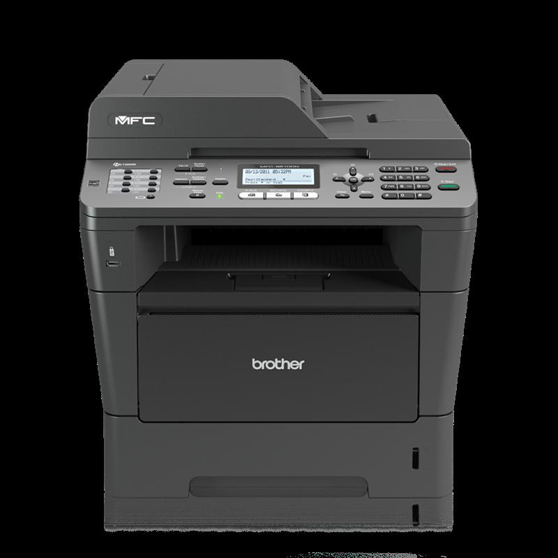 Brother MFC-8510DN S/W-Laserdrucker MFP
