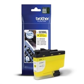 Brother Original - XL Toner gelb - LC3239XLY