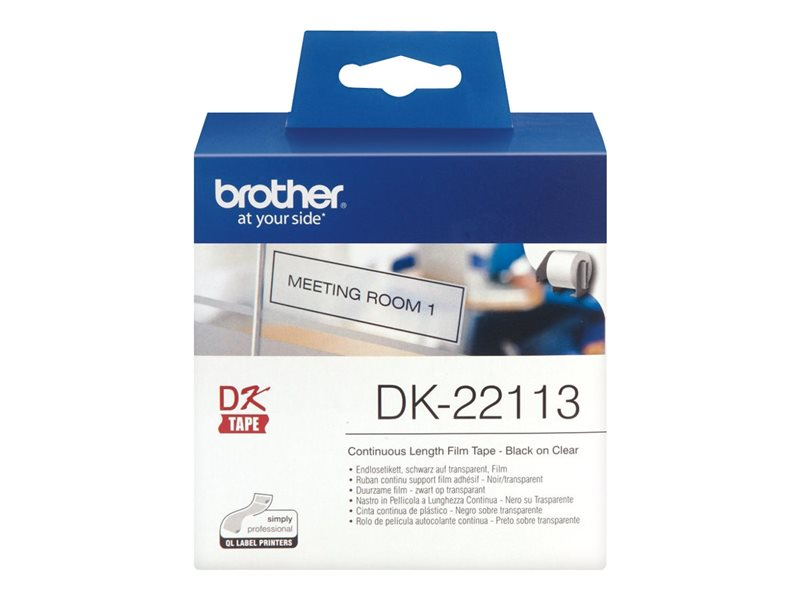 Brother Original Etikettenrolle klar 6,2cm x 15,2m