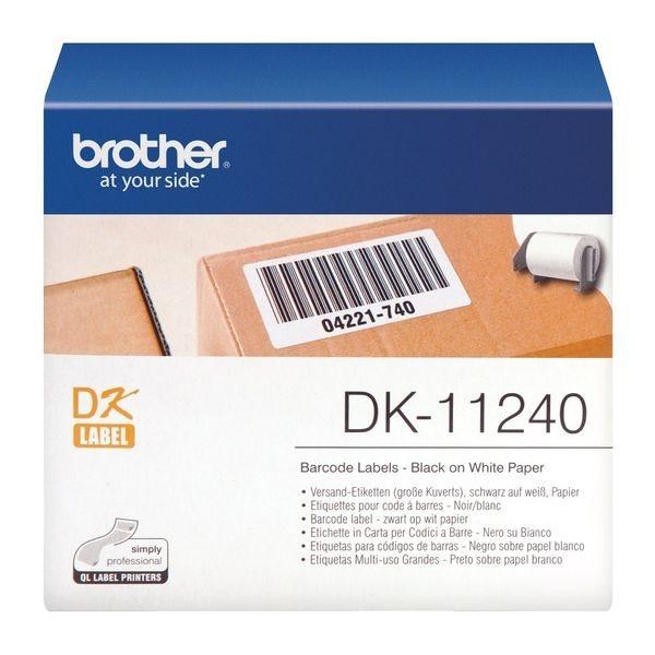 Brother Original - Etikettenrolle S/W 10,2x5,1cm