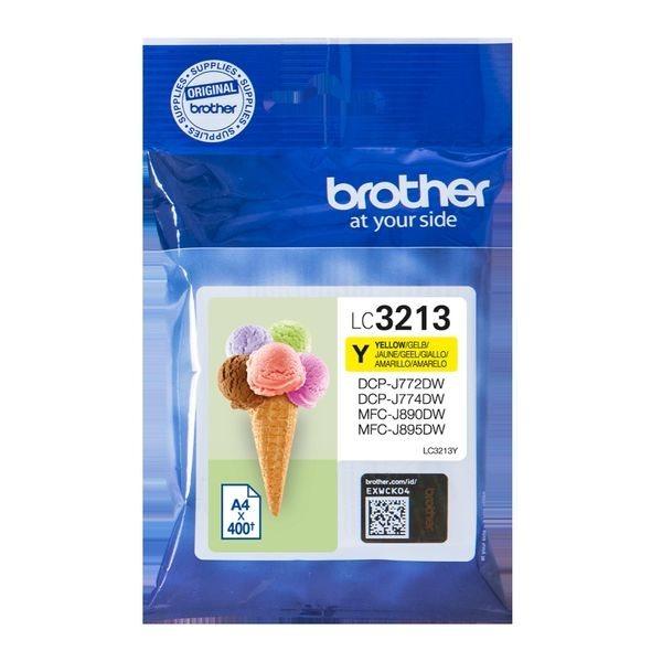 Brother Original - HC Tinte gelb -  LC3213Y