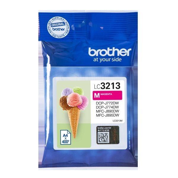 Brother Original - HC Tinte magenta -  LC3213M