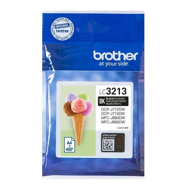 Brother Original - HC Tinte schwarz -  LC3213BK