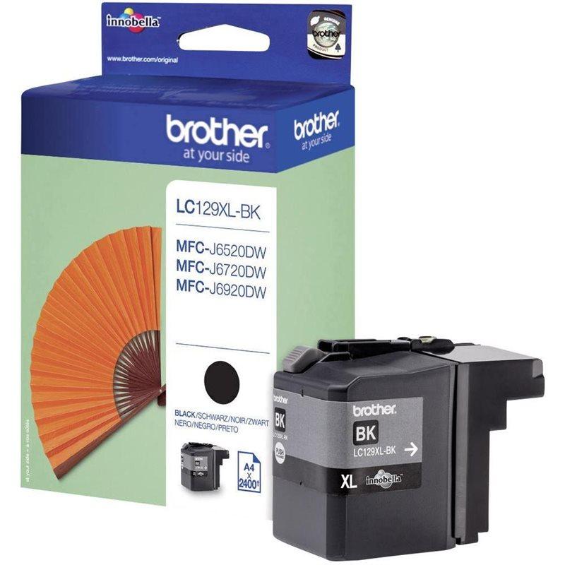 Brother Original - XL Tinte schwarz -  LC129XLBK