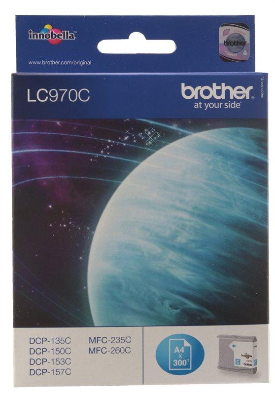 Brother Tinte cyan für DCP-135C    - LC-970C -