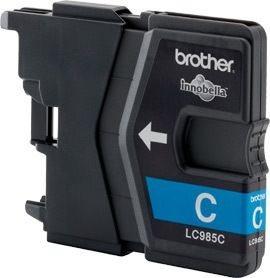 Brother Tinte cyan für DCP-J125, LC-985C