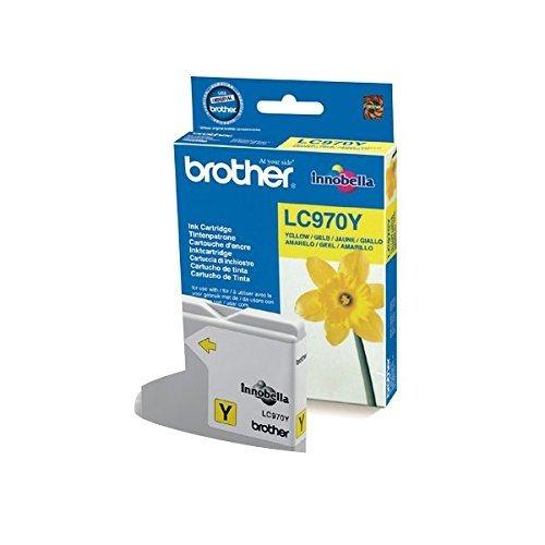 Brother Tinte gelb für DCP-135C    - LC-970Y -