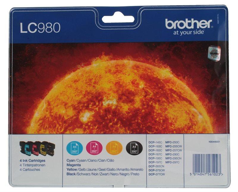 Brother Tinte Valuepack (BK+CMY) für DCP-145C