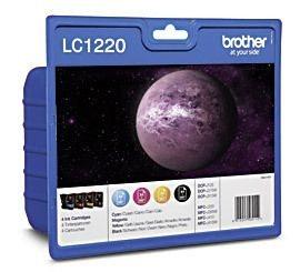 Brother Tinte Valuepack CMYBK, LC1220VALBPDR
