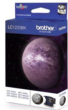 Brother Tintenpatrone schwarz, LC1220BK