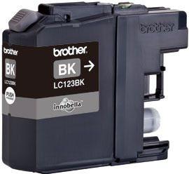 Brother Tintenpatrone schwarz, LC123BK