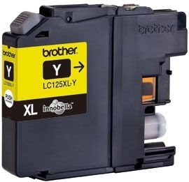Brother Tintenpatrone XL gelb, LC125XLY