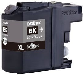 Brother Tintenpatrone XL schwarz, LC127XLBK