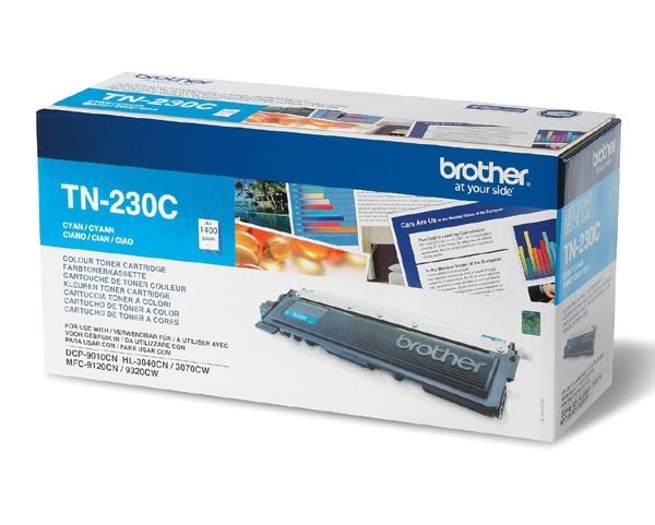 Brother Toner cyan für HL-3040CN, TN-230C