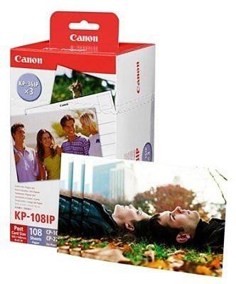 Canon Fotopapier KP108IN (108BL)