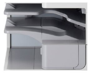 Canon G1 - 2-way tray Medienschacht
