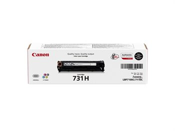 Canon Original - Cartridge 731H BK schwarz