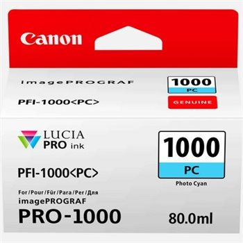 Canon Original - Tinte photo-cyan PFI-1000PC