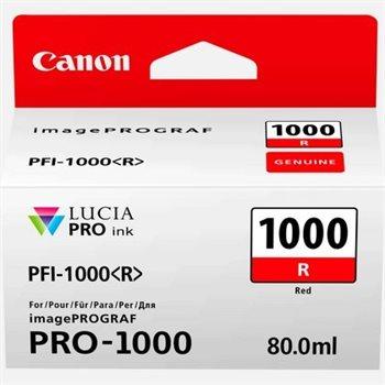 Canon Original - Tinte rot PFI-1000R -  0554C001AA