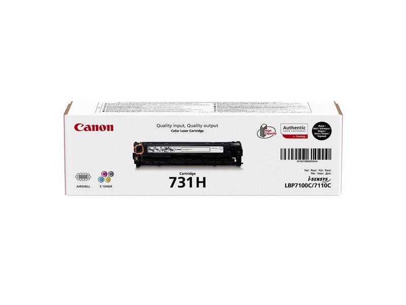 Canon Original - Cartridge 731H BK schwarz