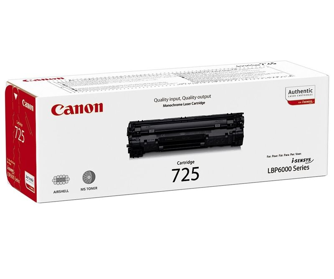 Canon Original - CRG-725 - Toner schwarz 3484B002