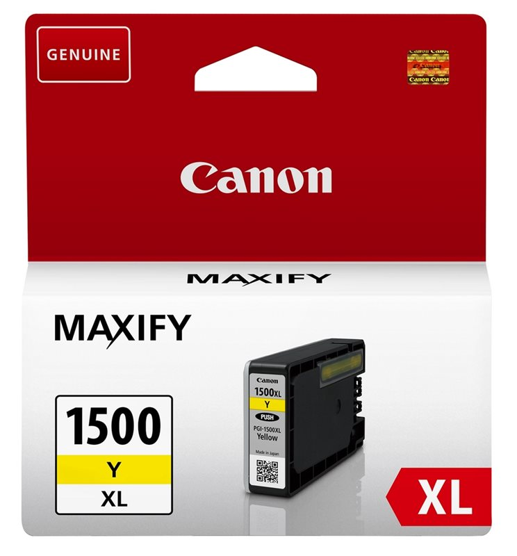 Canon Original - PGI-1500XL Y - Tinte gelb