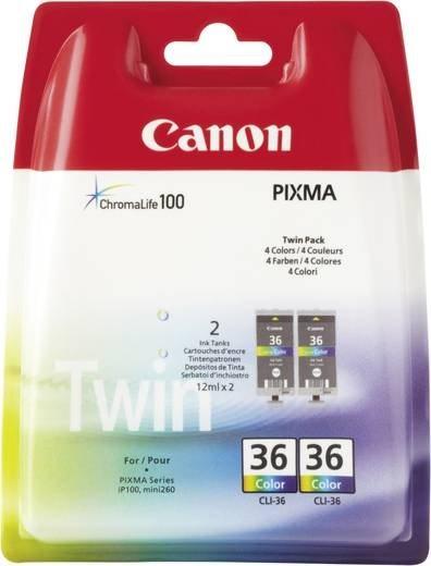 Canon Original - Tinte CLI-36 2er Pack C/M/Y