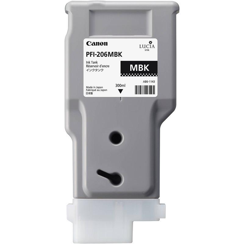 Canon Original - Tinte matt schwarz PFI-206MBK