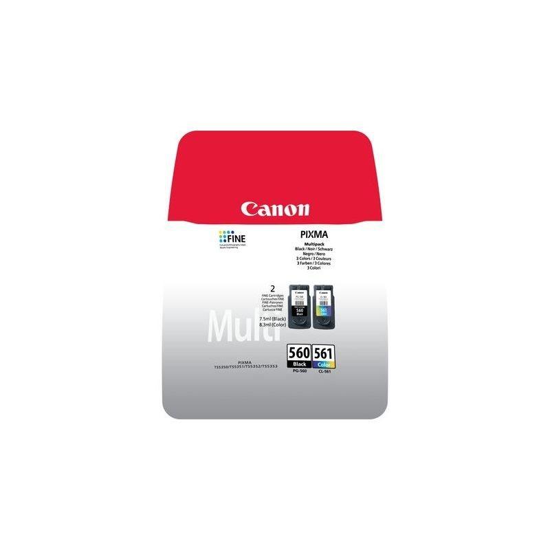 Canon Original Tinte Multipack CMYBK  PG-560 / CL-561 - 3713C006
