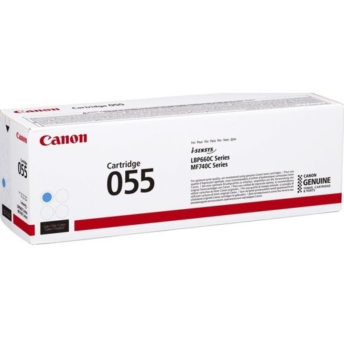 Canon Original Toner 055 cyan - 3015C002