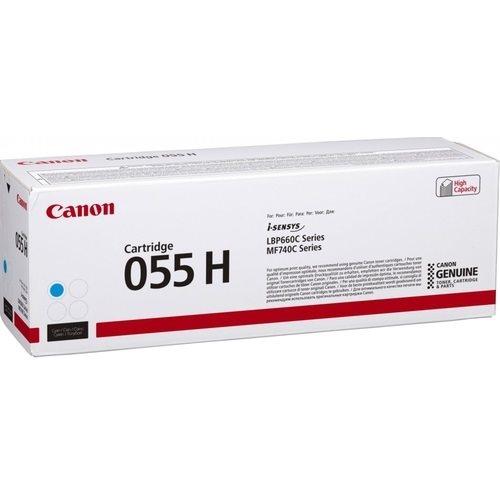 Canon Original Toner 055H cyan - 3019C002