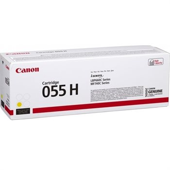 Canon Original Toner 055H gelb - 3017C002