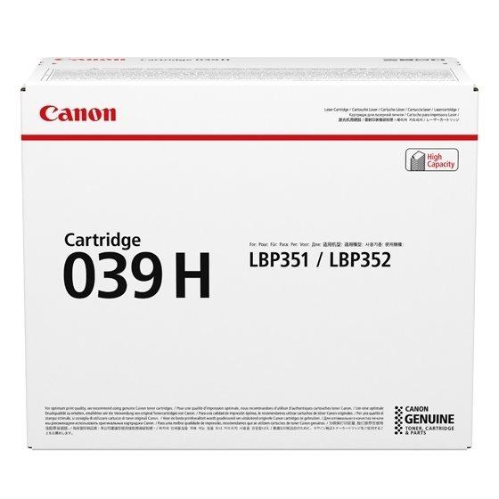 Canon Original - Toner schwarz 039H -  0288C001